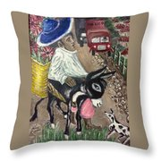 Mexico Throw Pillow by Mimi Eskenazi
