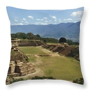 Mexico: Monte Alban Throw Pillow