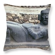 Mexico: Toltec Altar Throw Pillow
