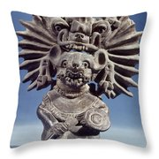 Mexico: Vampire Goddess Throw Pillow