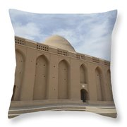 Meybod Ice House Yazd, Iran Throw Pillow