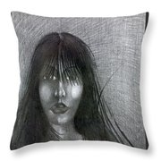 Meyby So Throw Pillow