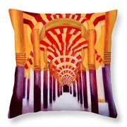 Mezquita De Cordoba Throw Pillow