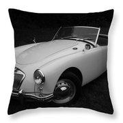 Mg - Morris Garages Throw Pillow