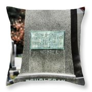 Mg Abner Doubleday Throw Pillow