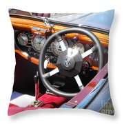 Mg Dashboard Throw Pillow