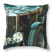 Mg-tc Racer Throw Pillow