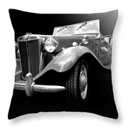 Mg-td Throw Pillow