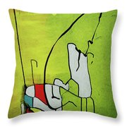 Mi Caballo Throw Pillow