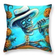 Mi Cerveza II Throw Pillow