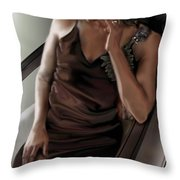 Mi Chica-beauty From Within Throw Pillow