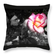 Mi Rosa Throw Pillow