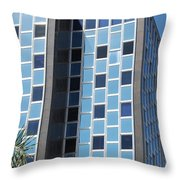 Miami Checker Board Throw Pillow