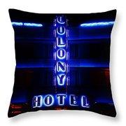 Miami Deco Throw Pillow