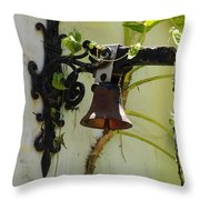 Miami Monastery Bell Throw Pillow
