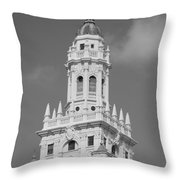 Miami Tower Throw Pillow