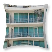 Miami Vice Throw Pillow