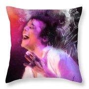 Michael Jackson 11 Throw Pillow