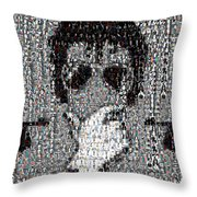Michael Jackson Glove Montage Throw Pillow