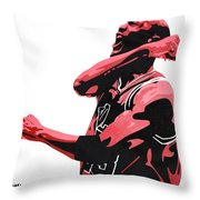 Michael Jordan Throw Pillow