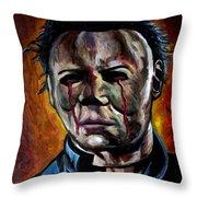 Michael Myers 2 Throw Pillow