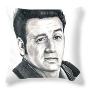 Michael Richards Cosmo Kramer Throw Pillow