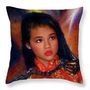 Michelle Ahl Throw Pillow