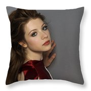 Michelle Trachtenberg Throw Pillow