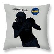 Michigan Football  Throw Pillow