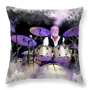 Mick Fleetwood Throw Pillow