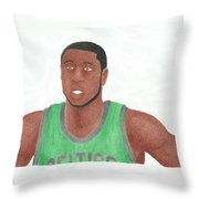 Mickael Pietrus Throw Pillow