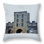 Mickelgate Bar, York Throw Pillow