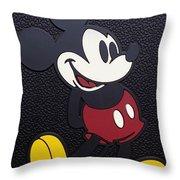 Mickey Mat Throw Pillow