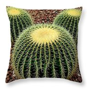 Mickey Mouse Barrel Cactus Throw Pillow