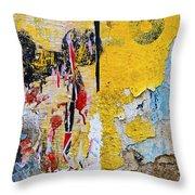 Mickeys Nightmare Throw Pillow by Skip Hunt