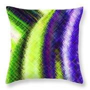 Micro Linear 12 Throw Pillow