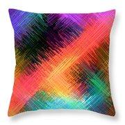 Micro Linear 14 Throw Pillow