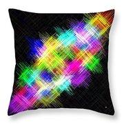 Micro Linear 15 Throw Pillow