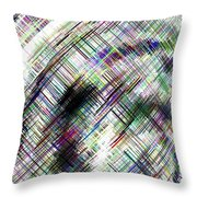 Micro Linear 16 Throw Pillow