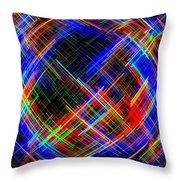 Micro Linear 21 Throw Pillow