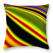 Micro Linear 22 Throw Pillow