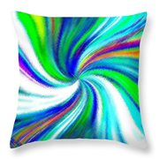 Micro Linear 5 Throw Pillow