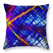 Micro Linear 6 Throw Pillow