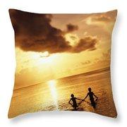 Micronesia, Guam Throw Pillow