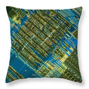 Microprocessor Throw Pillow