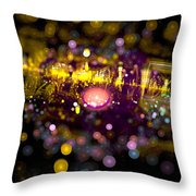 Microscopic Viii - It Throw Pillow
