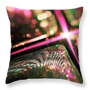 Microskopic Vi - Disco Fever Throw Pillow