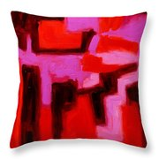 Mid Summers Day Throw Pillow
