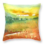 Midday 06 Throw Pillow