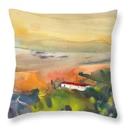 Midday 09 Throw Pillow